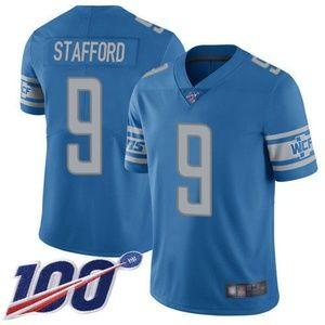 Detroit Lions Matthew Stafford 100th Season Jersey